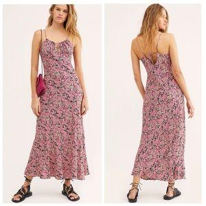 Free People Bon Voyage Maxi Dress Size XS NWT